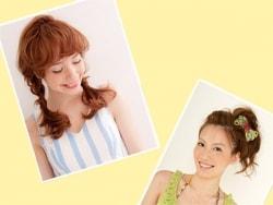 簡単!真夏の涼しげヘアアレンジ&髪型