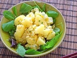 味噌パウダーで作る、新感覚の味噌粉ふき芋