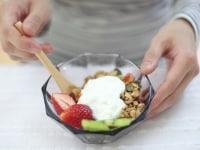 栄養のバランスを考えた食事内容が、美腹には大切です