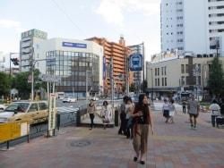江戸川橋、一歩入ると庶民的な都心の街