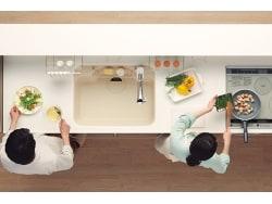 時短&イライラ解消!調理スペースが2つあるキッチン