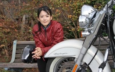 松原渓(まつばら・けい):スポーツライター。福岡... 噂のハーレー美女に聞く!スポーツライター