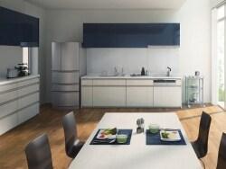 システムキッチン  扉と取っ手の種類と特徴