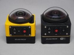 周囲360度を4K撮影できるカメラ「PIXPRO SP360 4K」