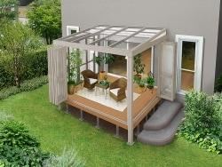 一戸建ての醍醐味!庭で快適に過ごせる建材・アイテム