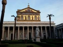 モザイクは必見、聖パウロ大聖堂