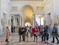 ローマの定番 ヴァチカン美術館とシスティーナ礼拝堂