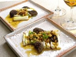 嬉しい美容成分が豊富 焼き野菜と松の実ソース