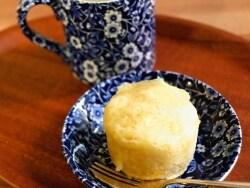 レンジで5分!マグカップで作るヨーグルト蒸しパン