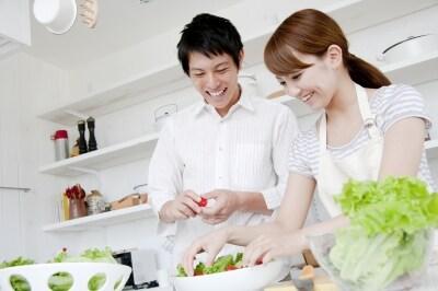 家事や料理をシェアして、いっしょに楽しめる結婚生活を望む人にもオススメ。