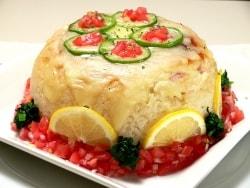 炊飯器で簡単! チーズとろけるライスケーキ