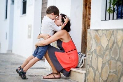 欧米社会では子供のころから、愛してる!と言うのが日常だと実感します。