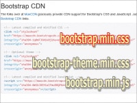 Bootstrap3を構成する3ファイル
