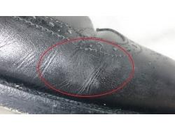 塩吹き、銀面浮きとは?雨天後の革靴トラブルをケア