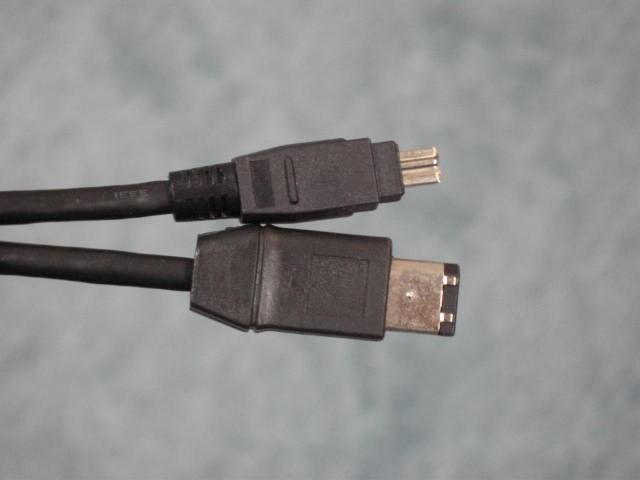 IEEE1394ケーブル1本でLANを構築