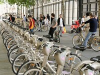自転車の パリ 自転車 ヴェリブ 場所 : パリの市内交通 [パリ] All ...