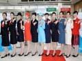 大韓航空・歴代CAユニフォーム展