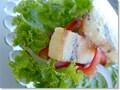 愛媛特産おとりよせ☆松山あげを使ったレシピ(2) 松山あげのひと口シーザーサラダ
