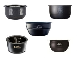 炊飯器の内釜の素材