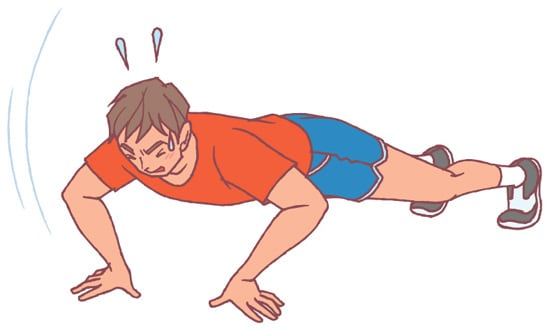 自宅で出来るサーキットトレーニング!