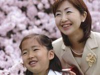 きれいなママで入学式