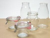 いろいろな空き瓶