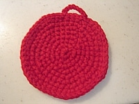 洗剤要らずでエコ!アクリルたわしの編み方