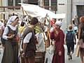 世界遺産の中世の街並みエストニア・タリン