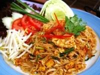 バンコクのパッタイ(タイ焼きそば)食堂