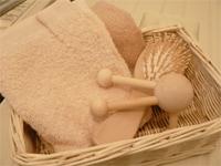 疲れた心と身体をゆったり癒すバスルーム