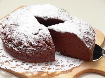 小麦粉は使わずに炊飯器で作る、ガトーショコラのレシピ。