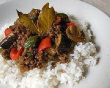 夏野菜のドライカレー(おかずレシピ)