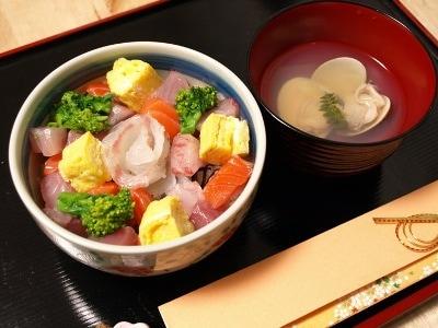 海鮮ちらしと蛤の潮汁 ひなまつりレシピ集