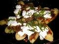 ひと味違う焼き茄子 なすのおかかピザ