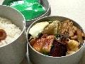 麩の酢味噌あえ弁当 / エッグロール弁当