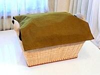竹ランドリーボックスMヨコ型(W48×D36×H25)6300円(税込)