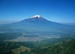 日本一の山、富士山