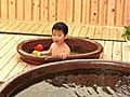 ママも楽チン!子供専用風呂で温泉デビュー