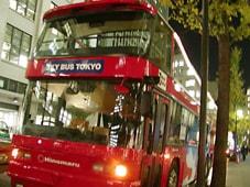 スカイバス東京・東京夜景コース 東京の夜風まるごと2階建バス