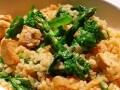 春野菜たっぷりの胡麻リゾット