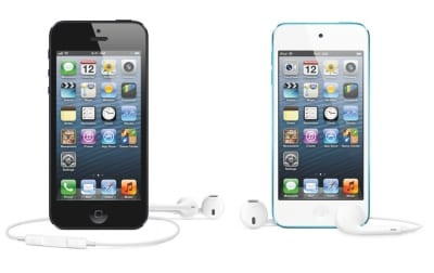 iPhoneとiPod touch
