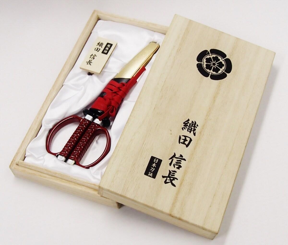 Ножницы Oda Nobunaga для поклонников культуры самураев