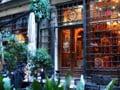 イスタンブール・新市街のカフェ