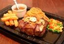 豪快なステーキ【レストランカタヤマ】