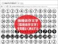丸囲み数字などの環境依存文字を使う方法