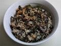生めかぶの佃煮レシピ……ピリッと辛い、ご飯のお供