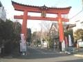 永福町、寺社と公園のあるのどかな住宅街