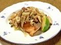 秋鮭ソテーのきのこマリネ