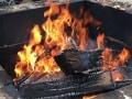 バーベキューの炭火を確実に消す方法水