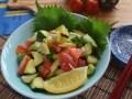 塩レモンで作る、夏野菜の浅漬け風マリネレシピ